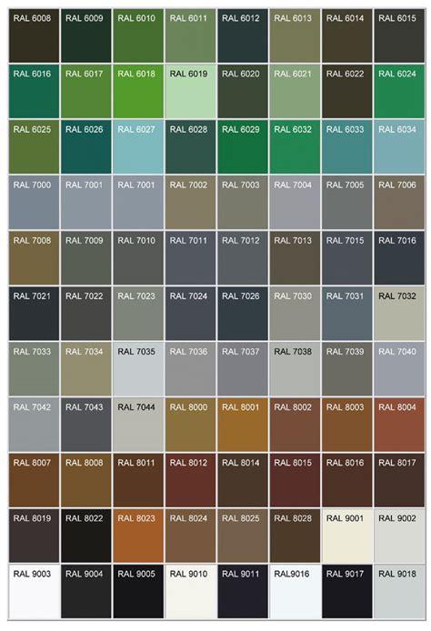 theclassichouse ral kleurenkaart