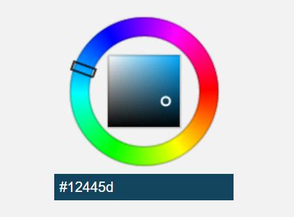canvas based html5 hsv color picker component css script