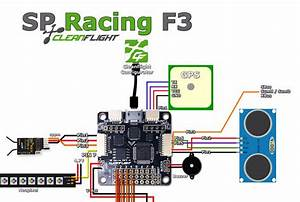 Naze32 Cc3d Sp Racing F3 Cleanflight Betaflight Raceflight Ultrasonic Sonar