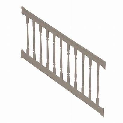 Stair Railing Colonial Vinyl Kit Ft Weatherables