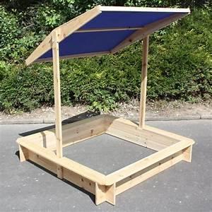 Dach Selber Bauen : sandkiste mit dach verstellbar holz sandkasten mit dach ~ Lizthompson.info Haus und Dekorationen