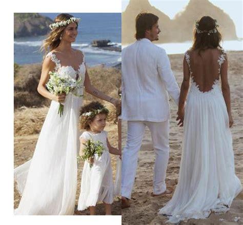 Backless Lace Wedding Dressopen Back Beach Wedding