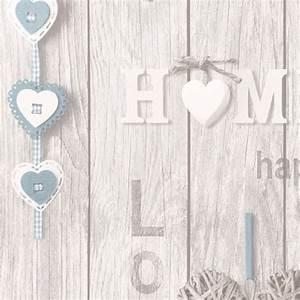 Fine Decor Love Your Home Wallpaper