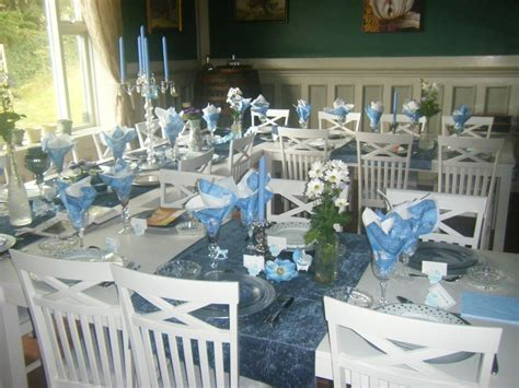 Table Setting For Baby Baptism Decoration Ideas Best