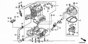 Honda Engines Gx35nt T3 Engine  Tha  Vin  Gcast