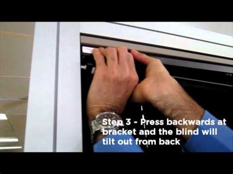 how to remove blinds from window aluminium venetian removal