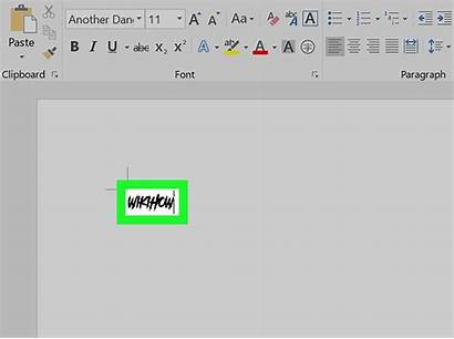 Word Microsoft Font Office Fonts Wikihow Lettertype
