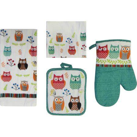 owl kitchen set mainstays owl 7 kitchen set walmart
