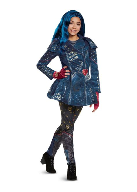 Descendants 2 Evie Girls Costume - Disney Costumes