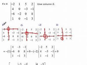 Inverse Matrix 4x4 Berechnen : determinants of matrices basics functions youtube ~ Themetempest.com Abrechnung
