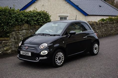 Fiat 500 Black by Fiat 500 Lounge 1 2 Black 2015 In Lisburn County Antrim