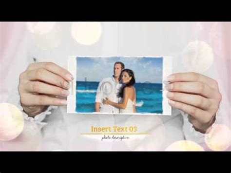 after effects project files beautiful wedding story collection videohive youtube