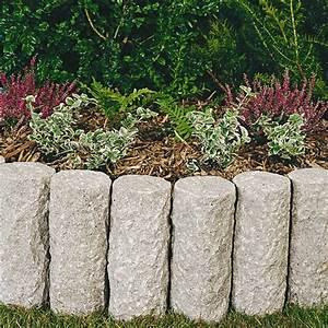 Palisaden Holz Rund : palisaden rund granit rosa ~ Frokenaadalensverden.com Haus und Dekorationen