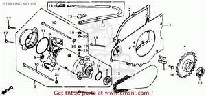 Honda Cm200t Twinstar 1980  A  Usa Starting Motor