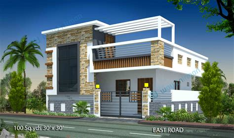 Home Design 1 Bhk : 30 X 45 House Plans East Facing