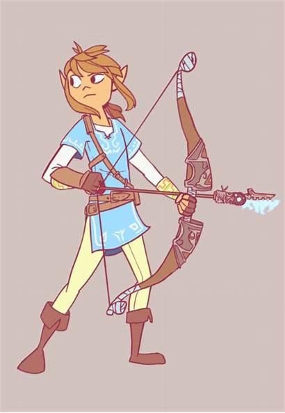 Zelda Link Legend Fan Nintendo Breath Wii