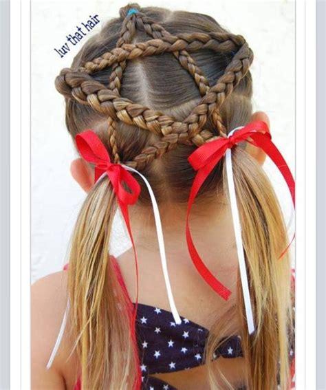 braided star    july hairstyles  girls