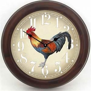 Fancy, Rooster, Clock