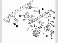 REAR SUSPENSION Parts for 1993 GMC C1500 Pickup