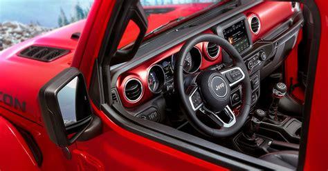 jeep wrangler interior revealed