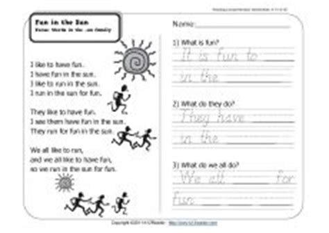 common core images worksheets words reading