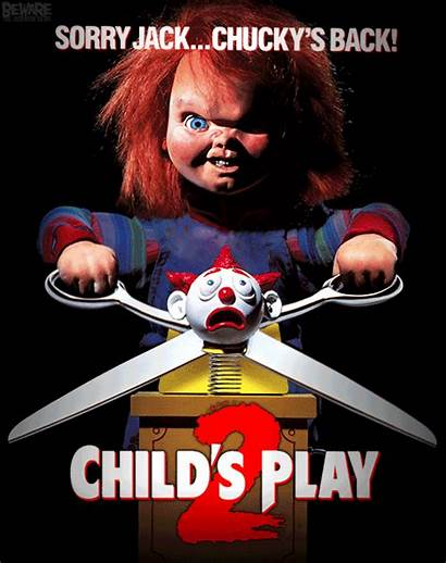 Horror Posters Gifs Chucky Play Child Movies