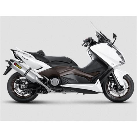 pot akrapovic tmax 530 akrapovic yamaha scooter tmax 500 530 2008 2016 ligne compl 232 te racing en titane pot d 233 chappement ce