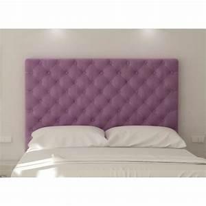 Tete De Lit Tissu : sogno t te de lit capitonn e adulte 140 cm tissu achat ~ Premium-room.com Idées de Décoration