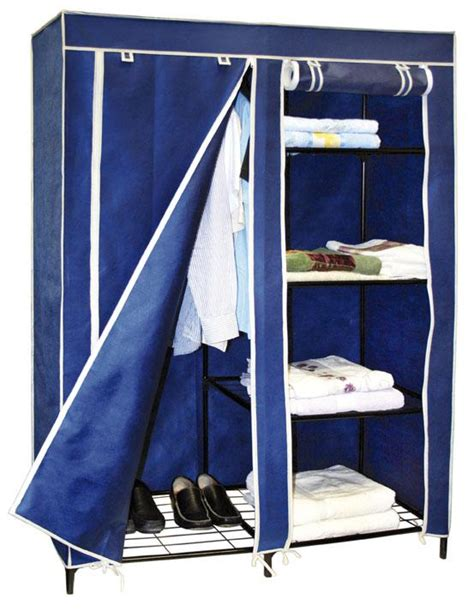 keep your clothes organized with portable closets homes
