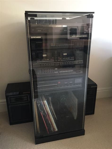 audio video component cabinet pioneer audio component system hifi cabinet in warwick