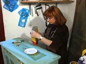 comment peindre ses vieux meubles decoration youtube With comment peindre un meuble ancien