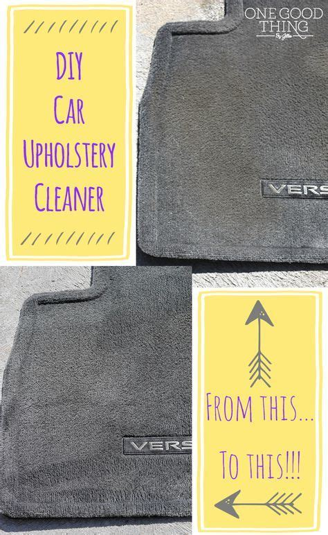 Cleaning Upholstery Diy by Best 25 Car Upholstery Cleaner Ideas On Car