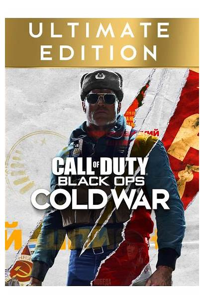 Cold War Duty Ops Call Ultimate Edition