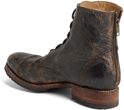 Bed Stu Protege by Bed Stu Protege Cap Toe Boot In Black For Lyst