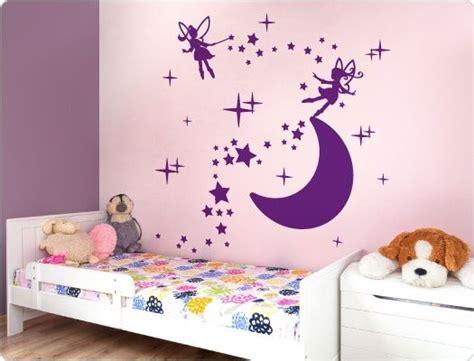 Wandtattoo Kinderzimmer Elfen by Wandtattoo Elfen Tanzen Auf Dem Mond M 228 Dchen Wandtattoos