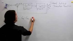 Diagram For Closed Loop Control System