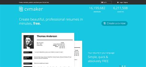 Automatic Resume Maker by 5 Resume Builder Percuma Yang Anda Boleh Guna Resume