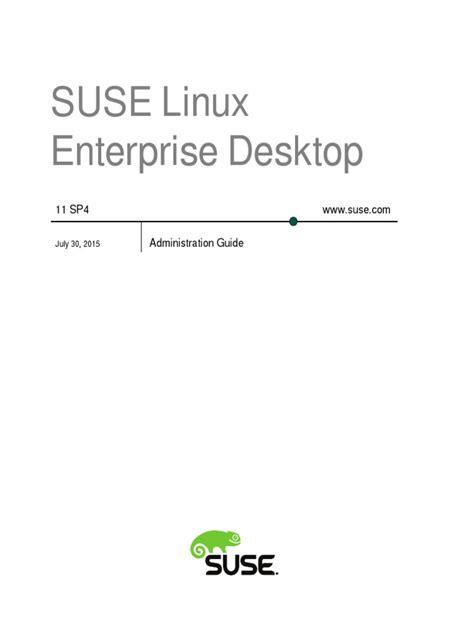 book sle admin desktop environment linux