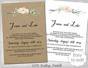 printable rustic wedding invitation template rustic With free printable rustic wedding invitations templates downloads