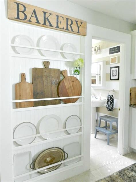 favorite farmhouse plate racks worthing court