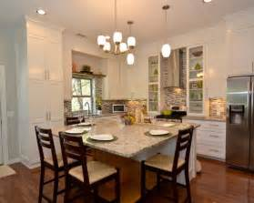 eat in kitchen ideas eat in kitchen table designs traditional kitchen with space at the island table and