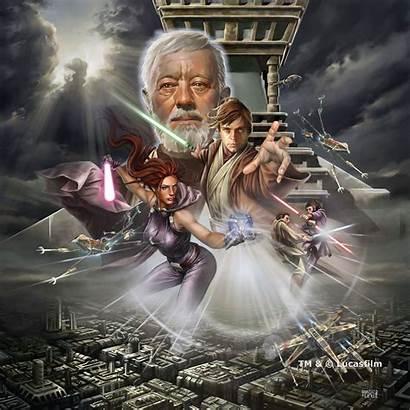 Wars Star Jedi Luke Mara Jade Academy