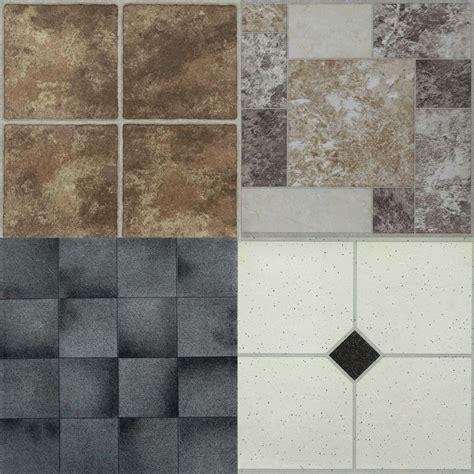 self stick kitchen tiles 4 x vinyl self adhesive floor tiles peel stick flooring 5119