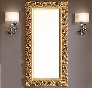 astuce pour dorer un encadrement de miroir astuces bricolage With encadrement miroir