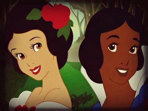 Snow White And Ebony Black By Deedee2014 On Deviantart