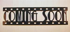 Coming Soon, New Metal Wall Art, Home Theater Decor ...
