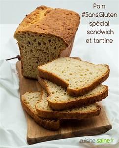 Recette Pain Sans Gluten Four : pain sans gluten sp cial sandwich et tartine ~ Melissatoandfro.com Idées de Décoration
