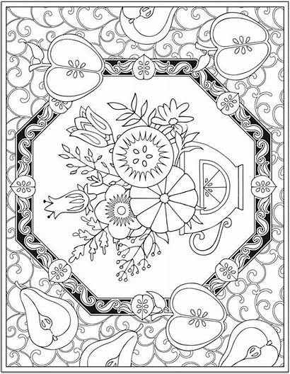Coloring Pages Dover Publications Market Creative Haven