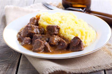 beef stew  gravy stock photo image