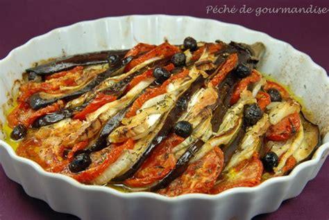 aubergines en éventail au sainte maure péché de gourmandise